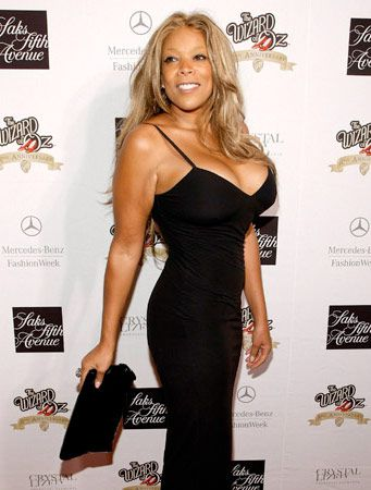Wendy Williams 2009 Mercedes Fashion Show