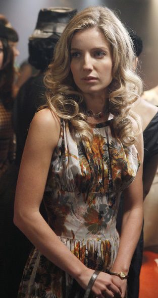 Annabelle Wallis 2012 Pan Am Set