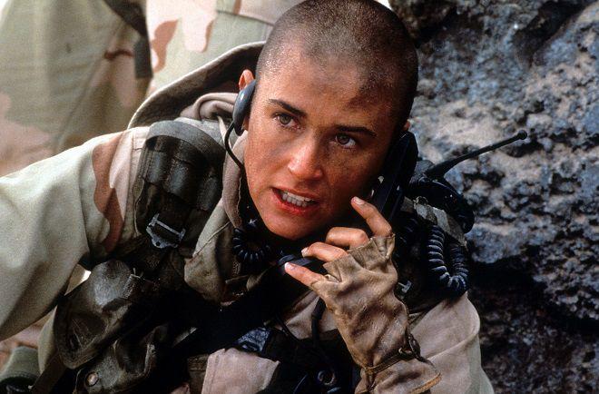 Demi Moore 1997 GI Jane