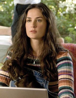 Demi Moore 2009 Happy Tears