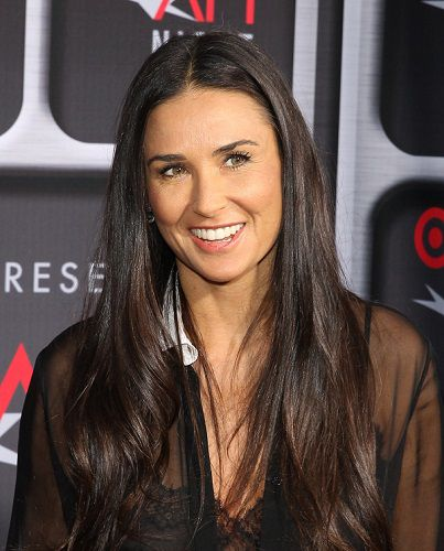 Demi Moore 2013 Media Event