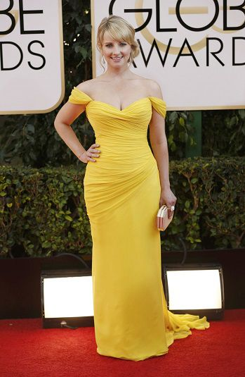 Melissa Rauch 2014 Golden Globes