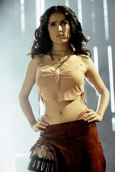 Salma Hayek 2003 Once Upon a Time in Mexico