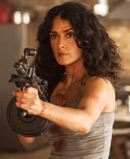 Salma Hayek 2014 Everly
