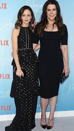 Lauren Graham 2017 with Alexis Bledely Netflix Event