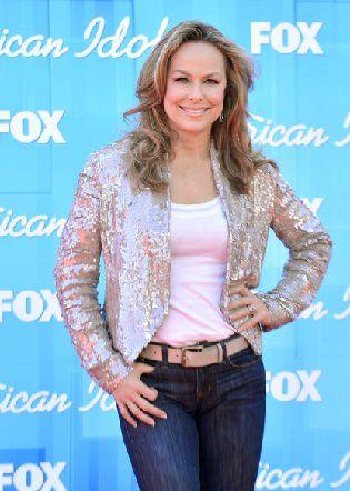 Melora Hardin 2012 American Idol Final Premiere