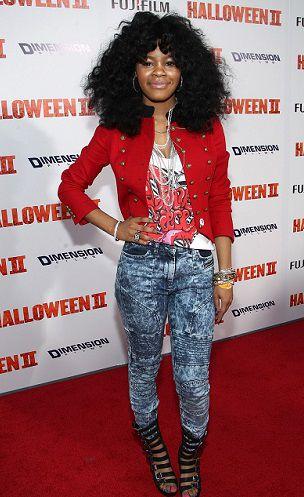 Teyana Taylor 2009 Halloween 2 Premiere